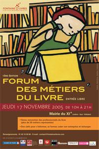Oficios por proteger, oficios que conocer: el Forum des métiers du livre