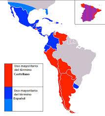 Estatus constitucional del castellano/español en América Latina, África y España